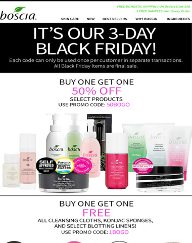 IT'S HERE! BLACK FRIDAY DEALS