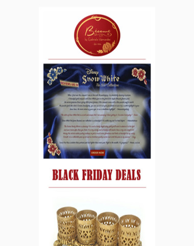 BLACK FRIDAY DEALS  - Bésame Cosmetics November 24th