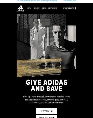 BLACK FRIDAY exclusive offer only at adidas