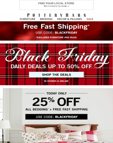 BLACK FRIDAY SAVINGS! 25% Off ALL Bedding + Surprise Deals Up to 50% Off