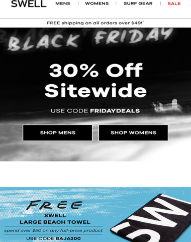 Black Friday: 30% OFF SITEWIDE!