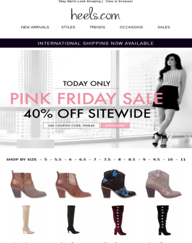 Pink Friday | Take 40% Off Sitewide!
