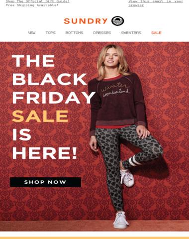 Up To 60% Off | Shop Black Friday Deals!