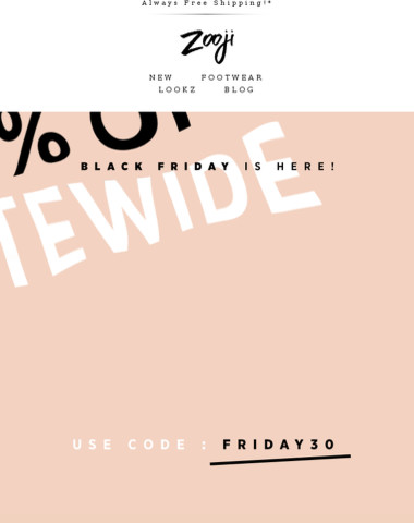 It's Here! 30% Off Sitewide