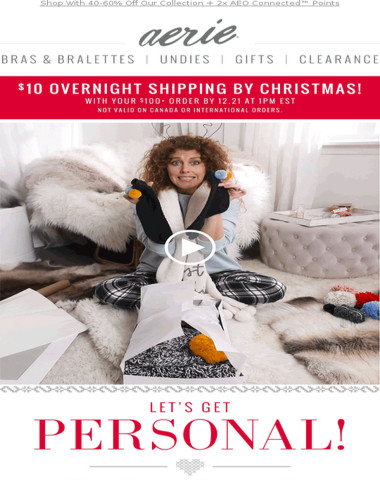 Aerie Trust Our Stylist For Gifts That Get All The Awww S