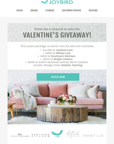 You'll ❤ this Valentine's Giveaway!