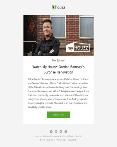 Watch My Houzz: Gordon Ramsay's Surprise Renovation