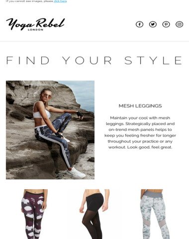Get to know these popular styles of leggings!