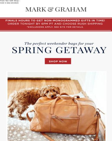 6 Weekenders To Inspire Your Spring Getaway – Starting at $89!