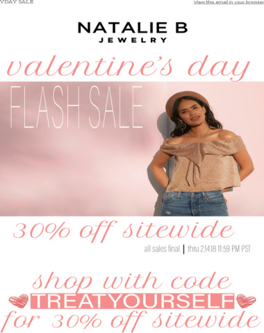 Treat Yourself, SALE - 30% Off Sitewide