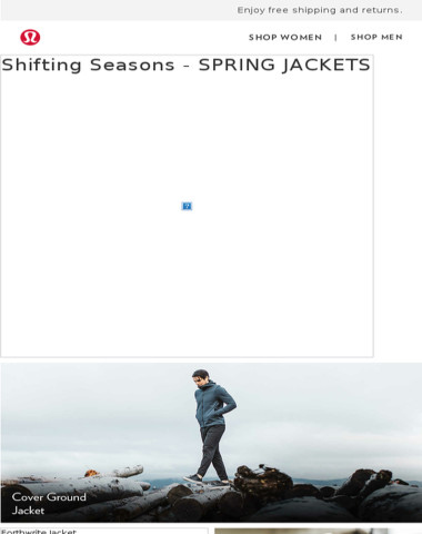 New Spring Jackets Are Here