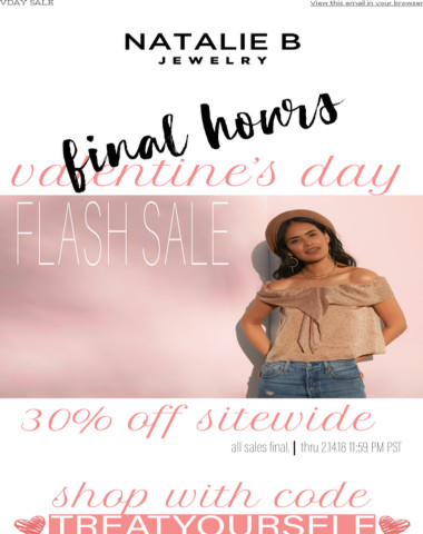 LAST CHANCE - 30% Off Sitewide