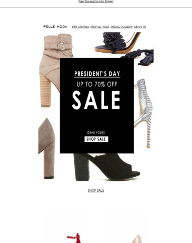 Have You Heard? SALE Up To 70% Off ♥