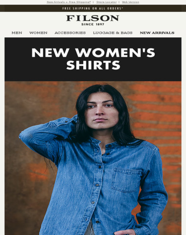 Women's Shirts: New Colors & Styles