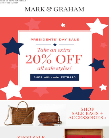 SALE ON SALE! Take an Extra 20% Off All Sale Styles!