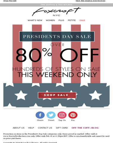 President's Day Sale - Save on Non-Iron Shirts & More! Prices Start at $13