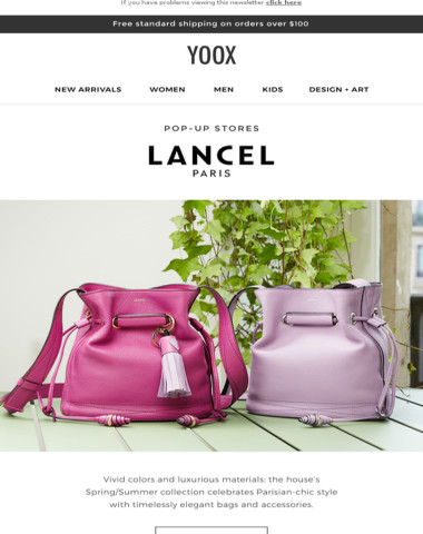 Lancel: the new collection