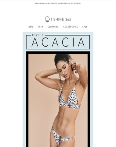 BRAND NEW ✨ACACIA✨ IS HERE!