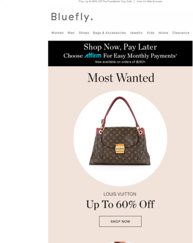 MOST WANTED: Up To 75% Off Missoni, Louis Vuitton, Stuart Weitzman & More