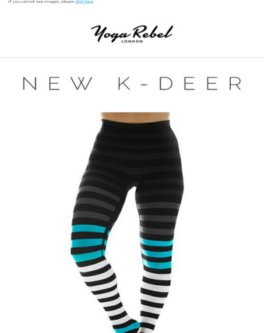 Meet the NEW K-DEER stripes! (and your faves back in stock!)