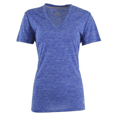 Under Armour Women's UA Tech Textured V-Neck T-Shirt