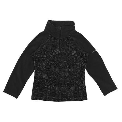 Columbia Girl's Glacial II Print 1/2 Zip Fleece Pullover