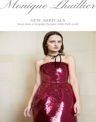 All about that Sparkle: SHOP Fall 2018 New Arrivals!