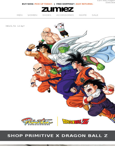 ? NEW Primitive X Dragon Ball Z