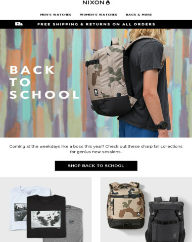 Back to School Stashes