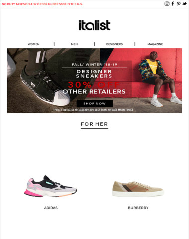 Italist - The Best 2018 Sneakers Right Now   FW18-19 Adidas, Dior, Y-3 and  more for Men and Women ebdeff90d8
