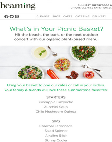 Summer Picnic Menu: what's in your basket?