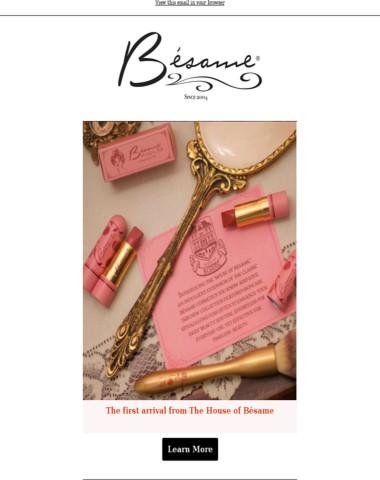 Debutante Sheers -  Bésame Cosmetics August 12th