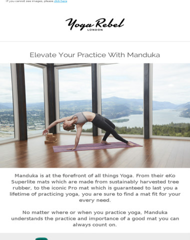 Oh My Mat! Check out what's NEW from Manduka!
