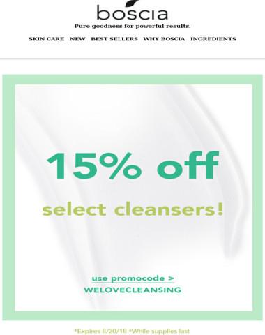 15% off sale?