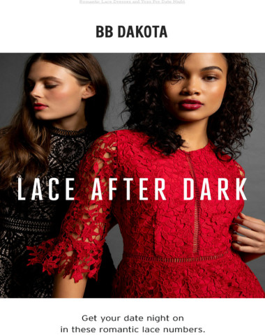 Let's Talk About Lace