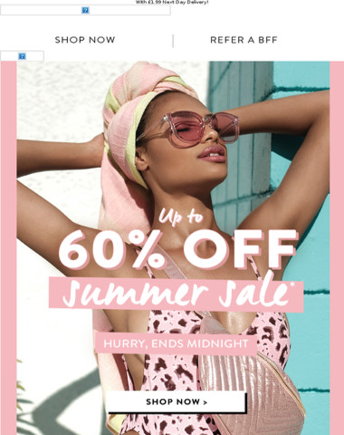 Up To 60% Off - It's Kind Of A Big Deal