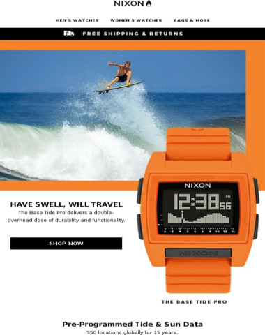 Base Tide Pro's Double-Overhead Dose