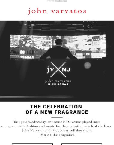 JV x NJ: The Celebration of A New Fragrance