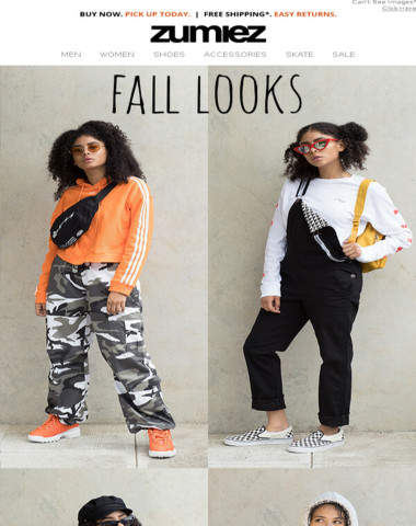 Zumiez - ✨LADIES: adidas, FILA & Fall Looks