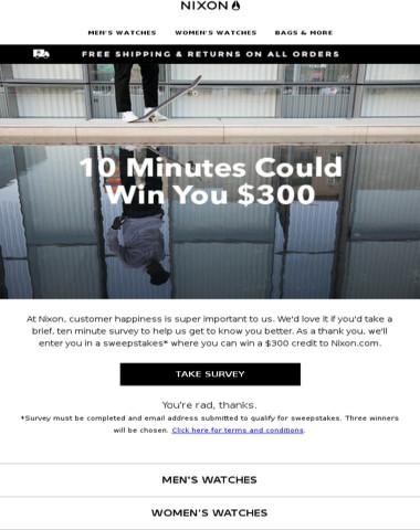Want a $300 Credit?