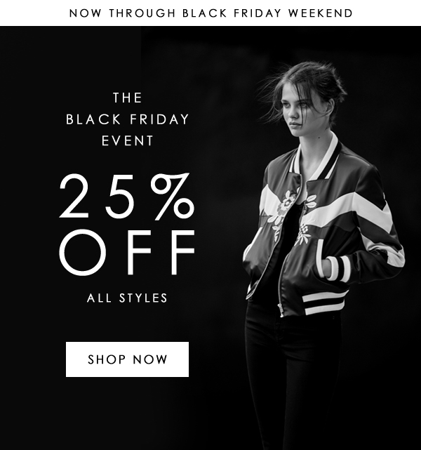 Shop the Black Friday Event