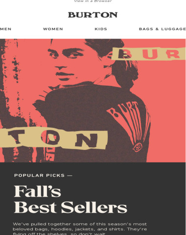 Check out This Fall's Best Sellers