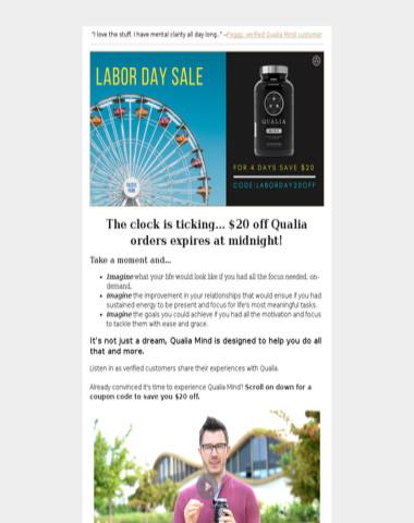 Shop Our Labor Day Sale