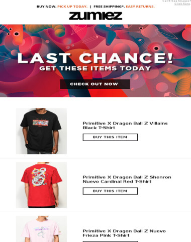 Last Chance - Get Your Stuff Now!