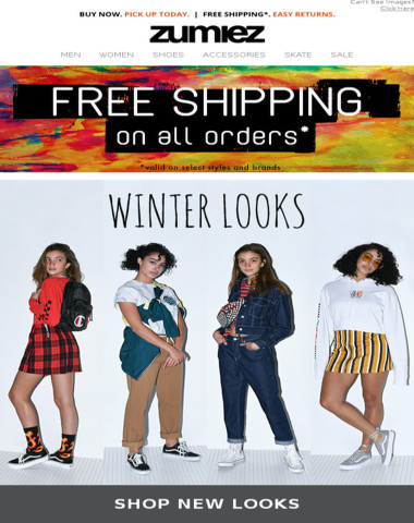 ?Ladies First · New Winter Styles
