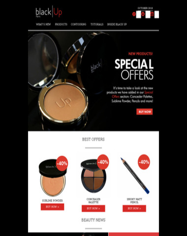 Hurry Up! -40% on new products!