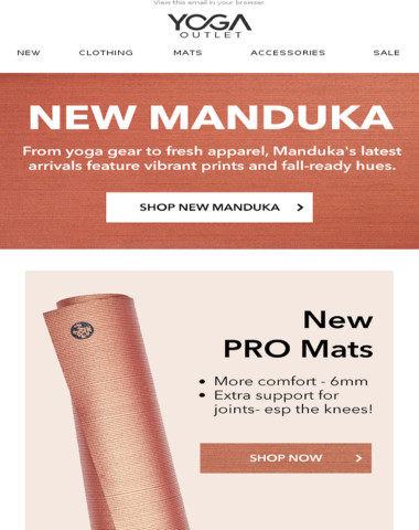 ⚠️ JUST IN from Manduka | Apparel, Gear, Props + More!