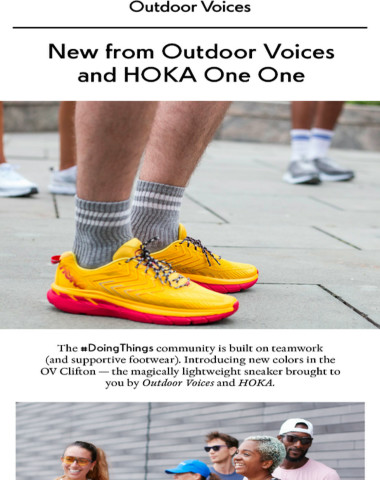 New HOKAS just in time for fall