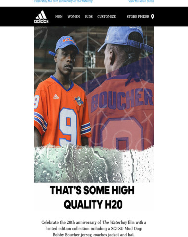 The Waterboy Collection available now