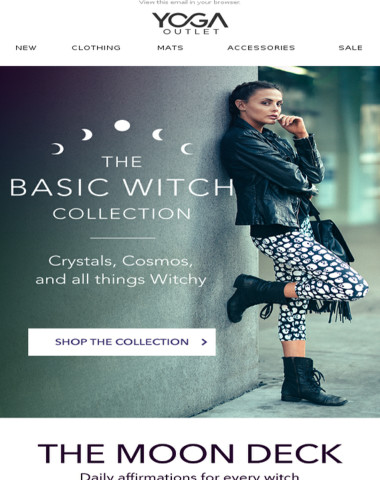 The Basic Witch Collection – Witchy Apparel, Crystals, and Self-Care